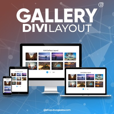 Divi Gallery Layout
