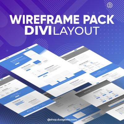 Divi Wireframe Layout