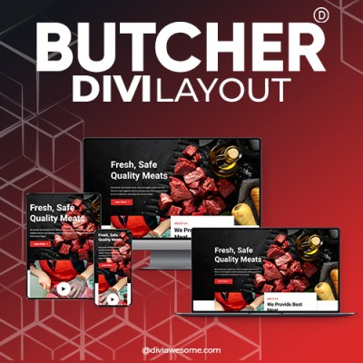 Divi Butcher Layout