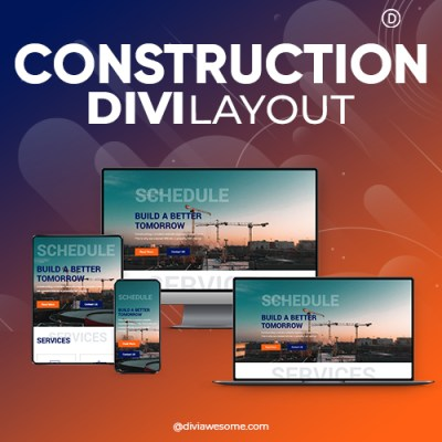 Divi Construction Layout 2