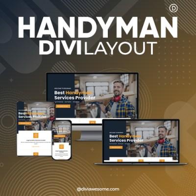 Divi Handyman Layout