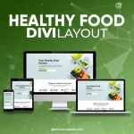 Divi Healthy Food Layout