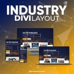 Divi Industry Layout