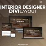 Divi Interior Designer Layout