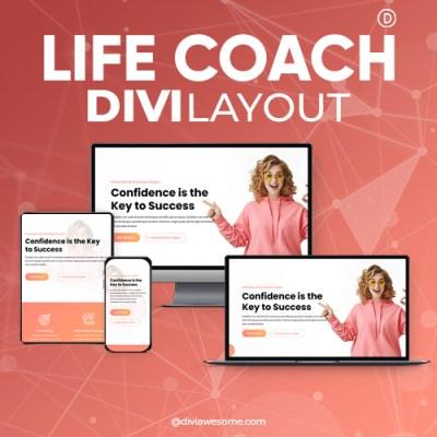 Divi Life Coach Layout
