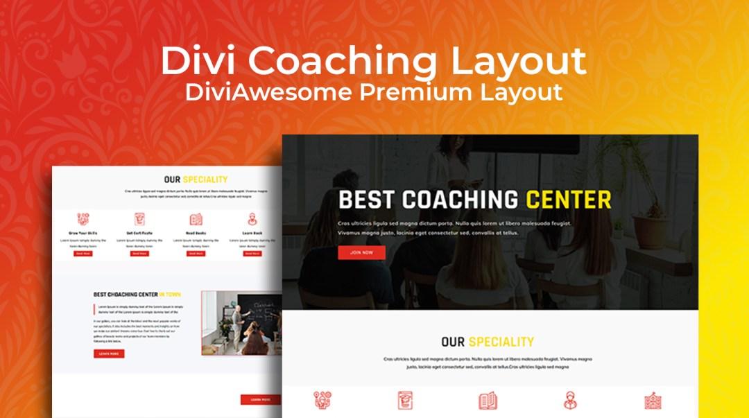 E-Coach Divi Child Theme