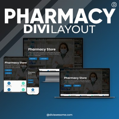 Divi Pharmacy Layout