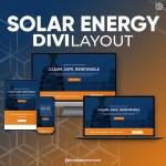 Divi Solar Energy Layout