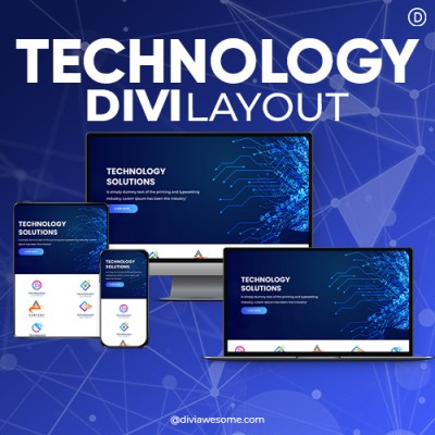 Divi Technology Layout