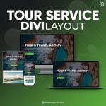 Divi Tour Service Layout