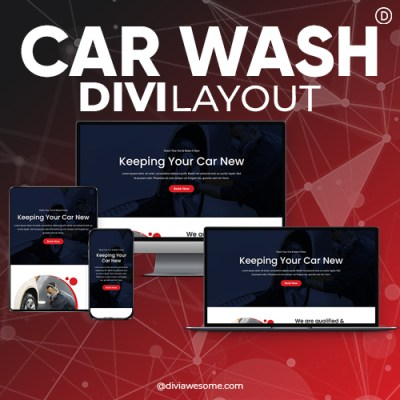 Divi Car Wash Layout 2
