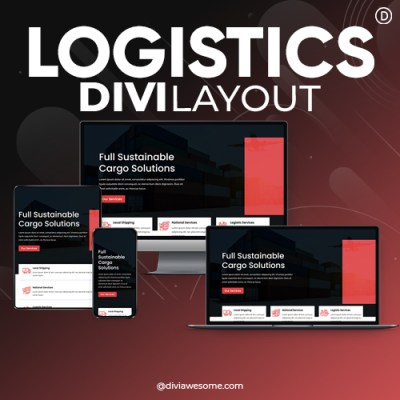 Divi Logistics Layout 3