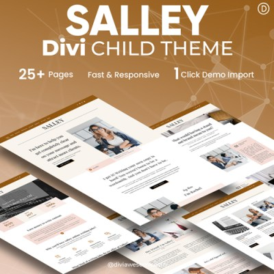 Salley Divi Child Theme