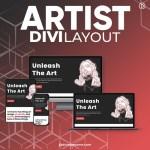 Divi Artist Layout