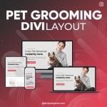 Divi Pet Grooming Layout