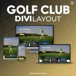 Divi Golf Club Layout 2
