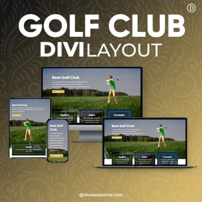Divi Golf Club Layout 2
