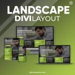 Divi Landscape Layout 3