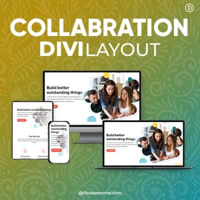 Divi Collaboration Layout