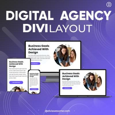 Divi Digital Agency Layout 2