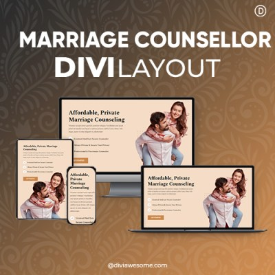 Divi Marriage Counsellor Layout
