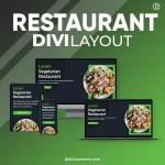 Divi Restaurant Layout 5
