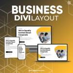 Divi Business Layout 3
