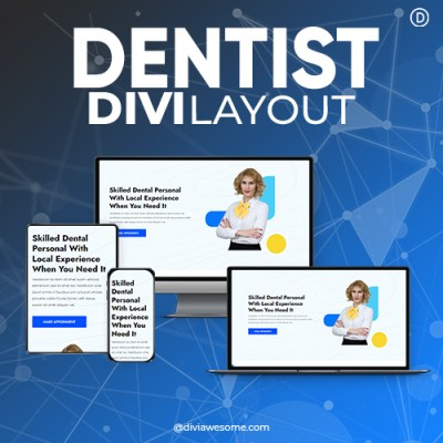Divi Dentist Layout 3