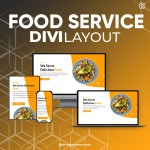Divi Food Service Layout