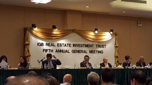 IGB REIT AGM 2017