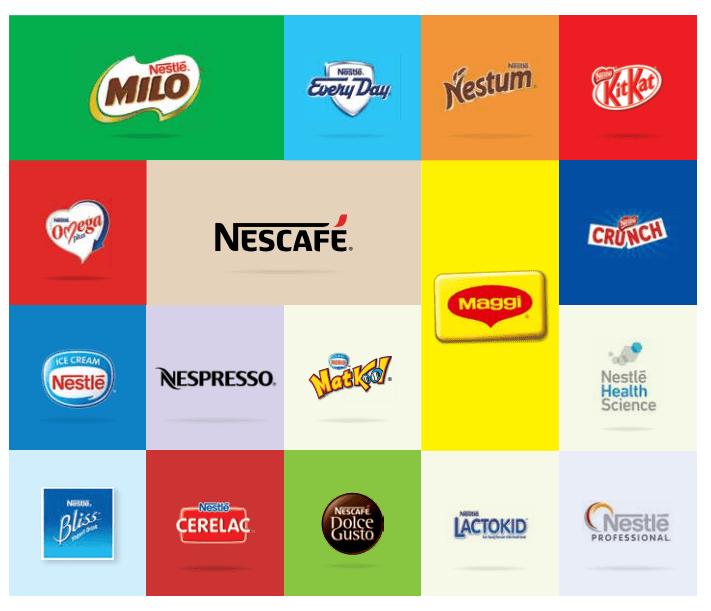 Nestle's Product Portfolio