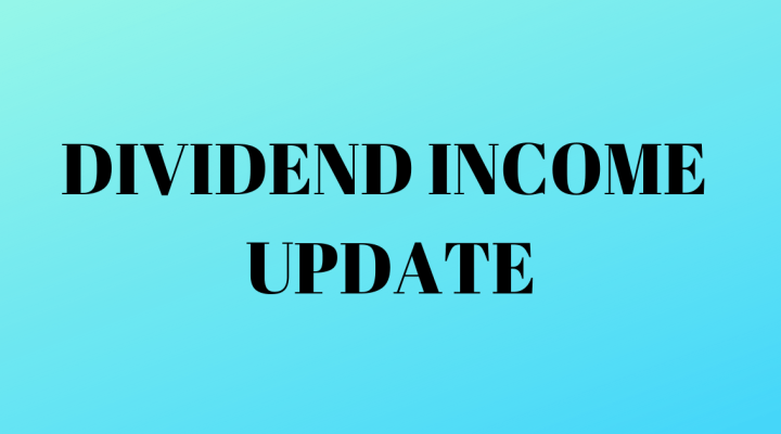 Dividend Magic Dividend Income Update