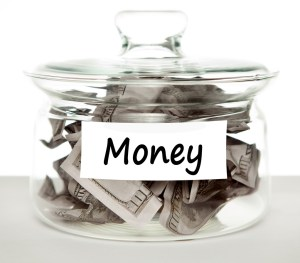 dividend portfolio money jar