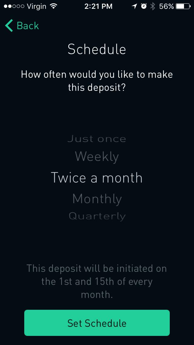 Setting Up Robinhood Auto Deposit – Pay Yourself First
