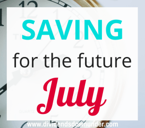 Saving for the future July 2016 - dividends down under blog