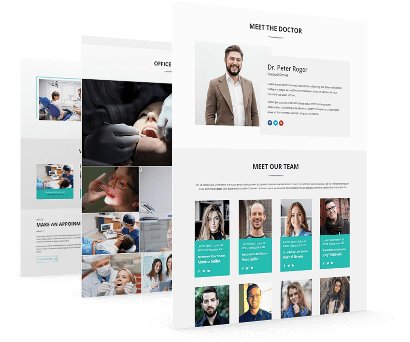 Divi Dental clinic theme