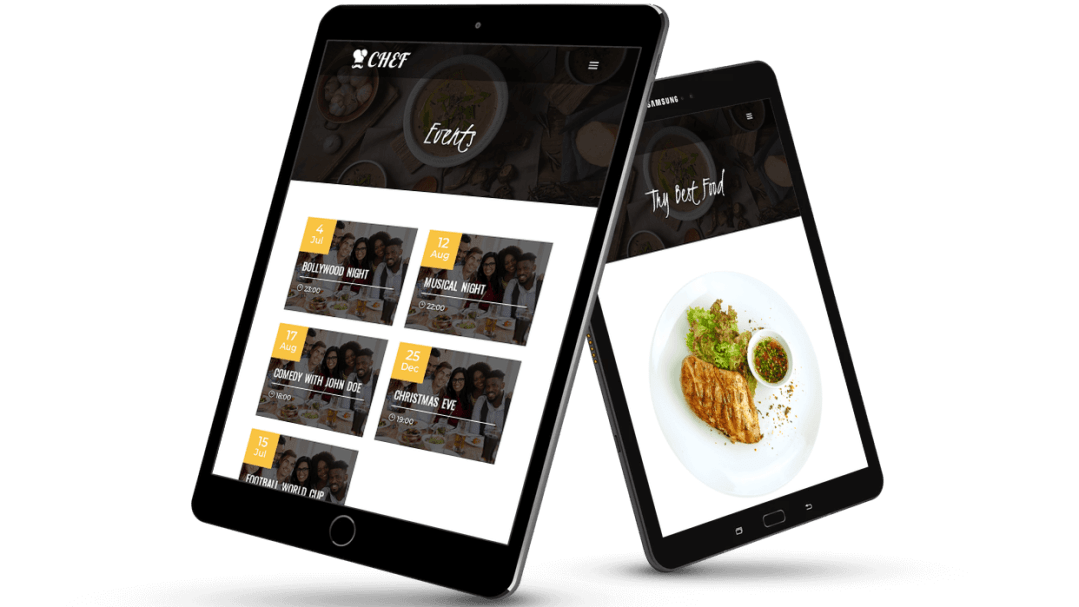 Divi child theme for cafe