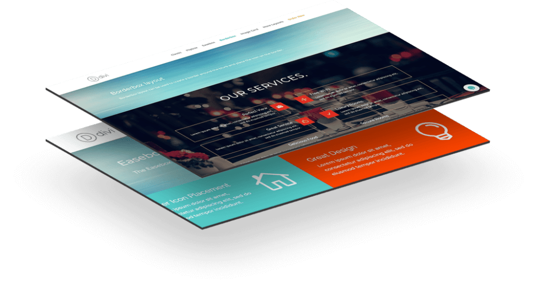 divi blurb layouts
