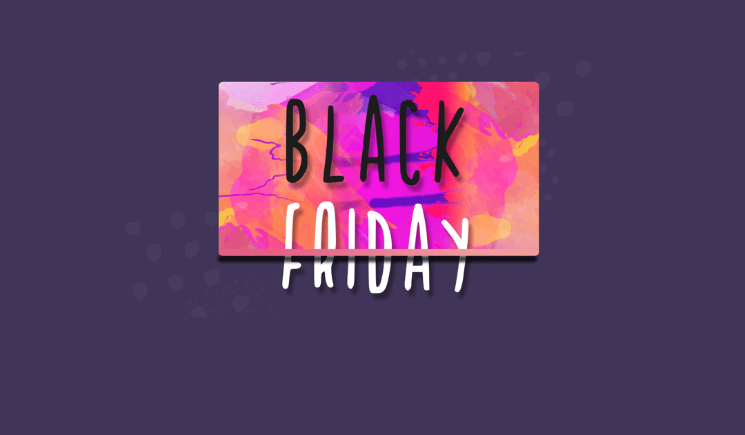 It's Black Friday! And we're giving Up to 60% OFF