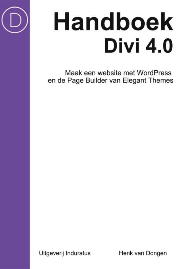 Handboek Divi 4.0