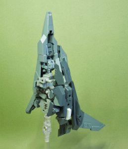 改良型空戦可変機リーンデルタ 機体構造