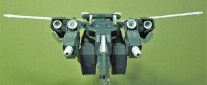 電子戦用可変支援機ブロード キャヴァルリーモード フロント