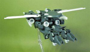 電子戦用可変支援機ブロード キャヴァルリーモード リアビュー