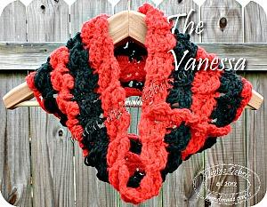 Vanessa, a cowl scarf