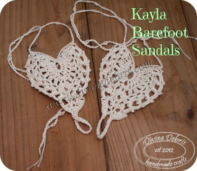 Kayla Barefoot Sandals by Divine Debris