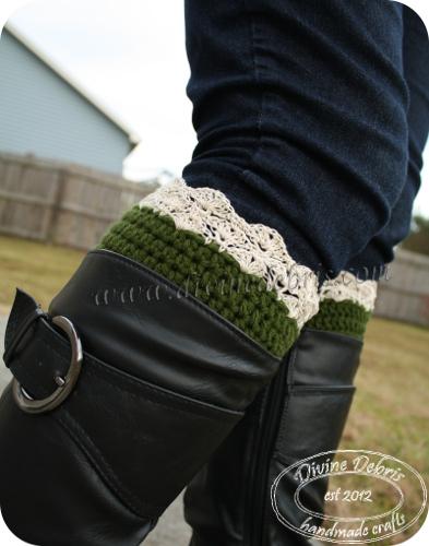 Eva Boot Cuffs by DivineDebris.com