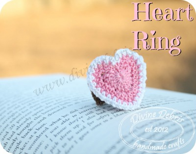 Heart Ring Pattern by DivineDebris.com