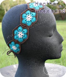 Heather Headband by DivineDebris.com