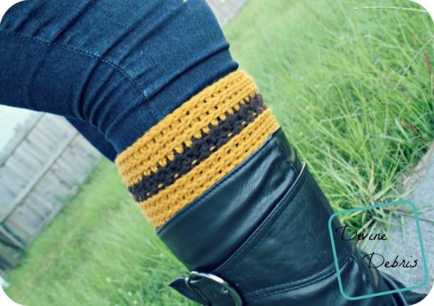 Diana Boot Cuffs Pattern by DivineDebris.com