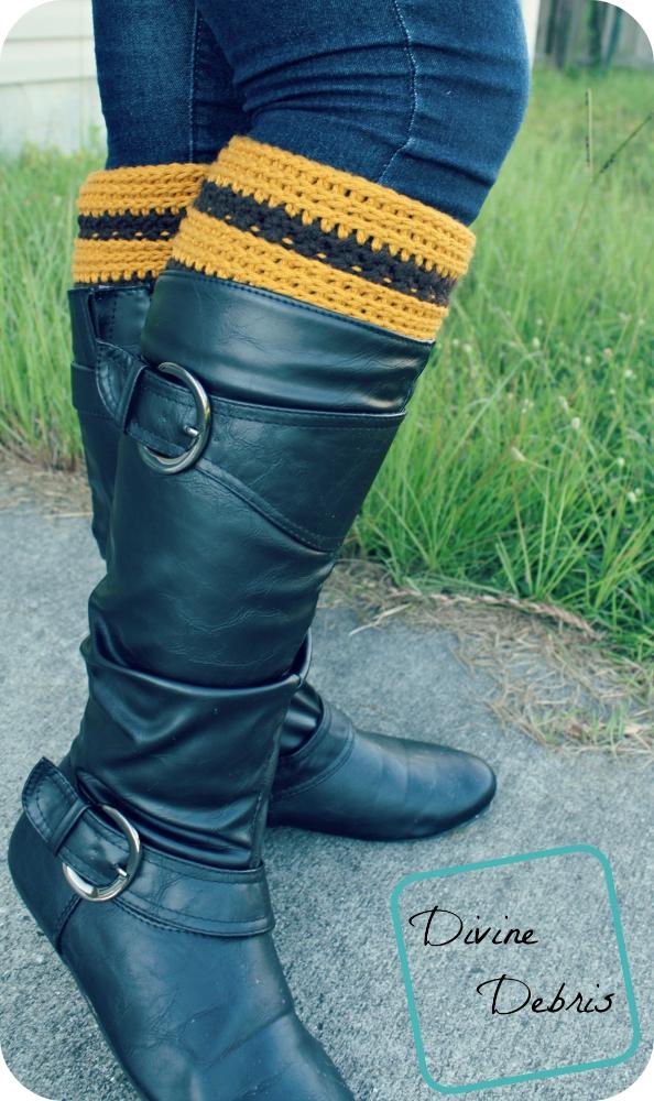 Diana Boot Cuffs by DivineDebris.com